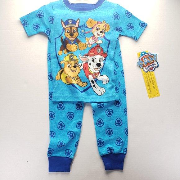 New Batman short sleeve pajamas boys toddler sizes 2T 3T 4T 5T